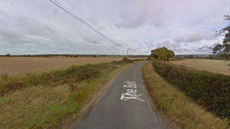 The crash happened in The Belt in Lidgate Picture: GOOGLE MAPS