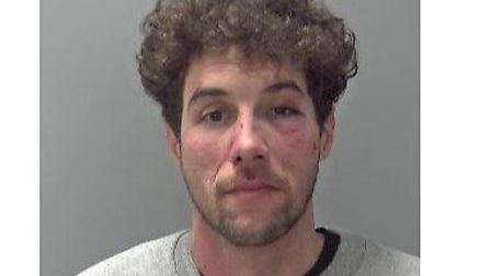 Omar Parfett, who was jailed for 11 months at Ipswich Crown Court Picture: SUFFOLK CONSTABULARY