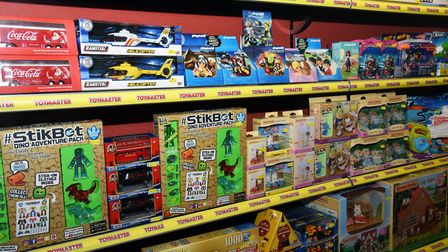 Toytown in Woodbridge is closing down after 30 years of business Picture: CHARLOTTE BOND