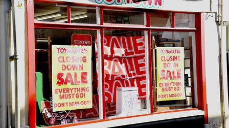 The shop will close its doors at the end of the month Picture: CHARLOTTE BOND