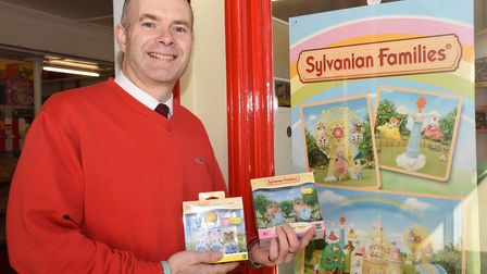 Simon Adams said that Sylvanian Families remained one of the shops biggest sellers Picture: CHARLOT