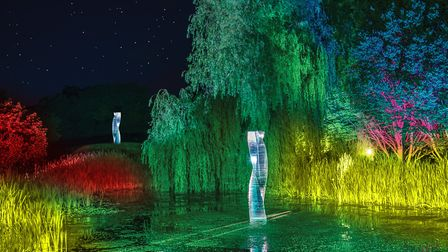 So romantic - the Spectacle of Light at Haughley Park. Picture: HAUGHLEY PARK LTD