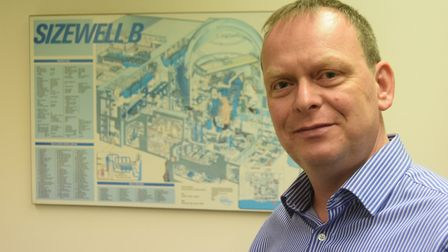 Jon Yates, acting station manager at Sizewell B nuclear power station, was the person who turned the