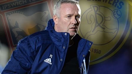 Paul Lambert's Ipswich Town take on Burton Albion this weekend. Picture: PAGEPIX