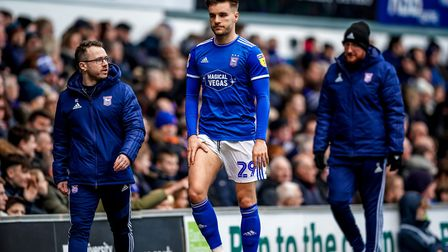 Luke Garbutt could return after missing the last two games with a thigh injury. Picture Steve Wall