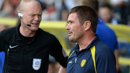 Nigel Clough's Burton Albion are 12th in League One. Picture Pagepix