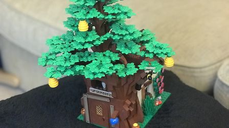 Lego will be making this replica of Pooh's Tree House Picture: Ella Wilkinson