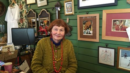 Marcia Riddington from Smoking Monkey Antiques believes pedestrianising the street would be a good t