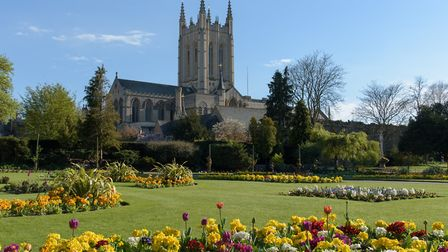 St Edmundsbury Cathedral which will play host to the opening concert of the Aldeburgh Festival 2020