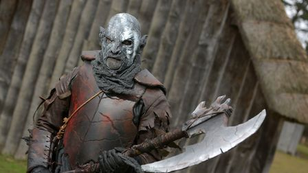 Orcs at West Stow Anglo Saxon Village Picture: SARAH LUCY BROWN