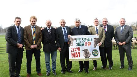 Suffolk Agricultural Association AGM panellists Picture CHARLOTTE BOND
