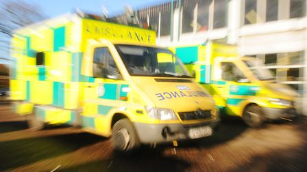 Paramedics have also been known to face attacks. Picture: ARCHANT LIBRARY