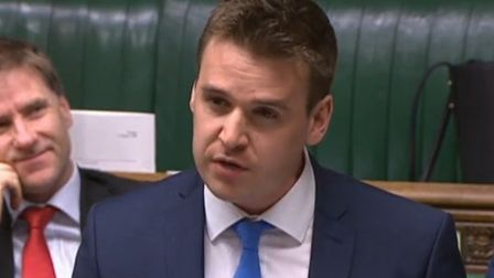 Tom Hunt, MP for Ipswich. Picture: HOUSE OF COMMONS