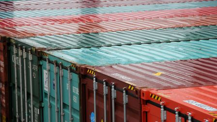A large commercial container site has been approved for land on the Norfolk-Suffolk border (file pho