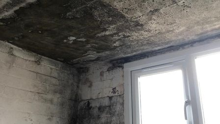 Flaghship Homes said that it had worked to fix the mould in the property Picture: DEBBIE SMITH