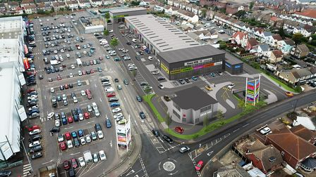 The new multi-million pound retail park will be in Old Road, opposite the existing Waterglade Retail
