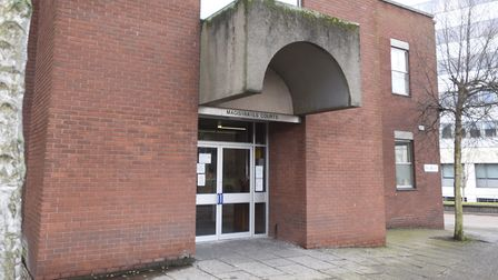 Gregory Johnson appeared before magistrates in Ipswich Picture: ARCHANT