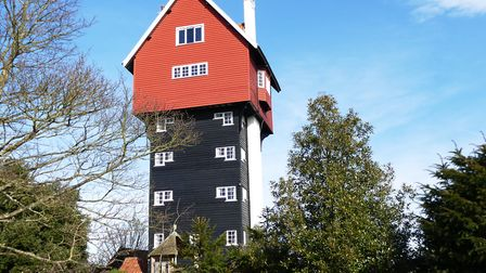 The House in the Clouds - designed as the best disguise for an unsightly water tower Picture: iWIT