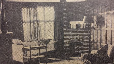 Inside a Thorpeness house about 90 years ago Picture: ARCHANT