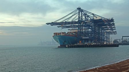 Extra measures are in place to guard against coronavirus at the Port of Felixstowe