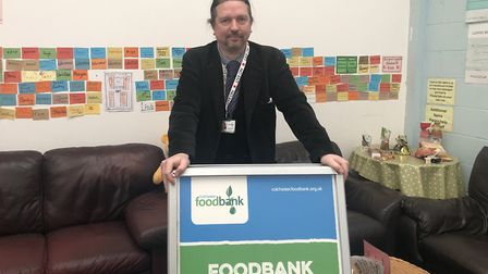 The foodbank fed more than 9,400 people in 2019 - a 34% increase on last year, the biggest rise year