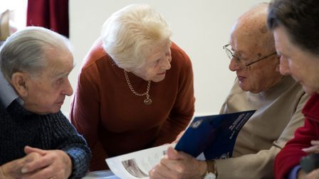 The Sudbury Macular Society Support Group helps people suffering with sight loss. Picture: SUDBURY M