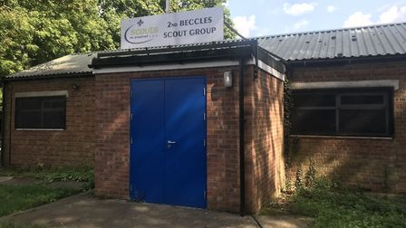 The 2nd Beccles Scout Group hut where �10,000 of equipment was stolen Picture: NEIL DIDSBURY