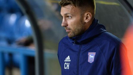Chris Hogg has left Ipswich Town for Newcastle United. Picture Pagepix