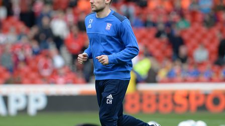 Chris Hogg worked with Town's first-team following the departure of Mick McCarthy Picture Pagepix