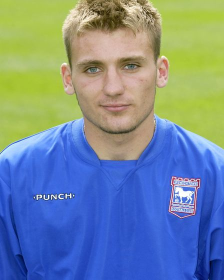 Chris Hogg, pictured during his days with Ipswich's academy