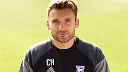 Chris Hogg joined Ipswich's academy following the conclusion of his playing career. Picture: ARCHANT