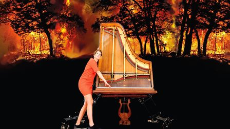 Environmentalist and acclaimed pianist and composer Sarah Nicolls who is appearing at the Bury Festi