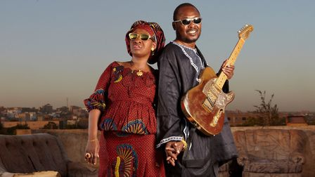 Amadou and Mariam who are performing with the Blind Boys of Alabama at the Bury Festival 2020 Phot
