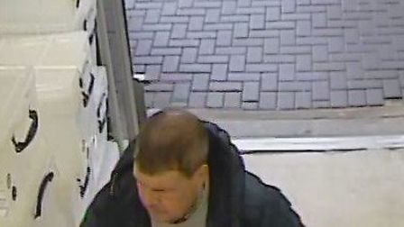 Police are asking for help to identify these two men in connection with an incident in Homebase. Pic
