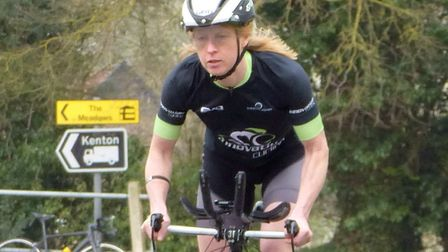 Gillian Leech (Stowmarket & District CC) was the women's winner of the SPOCO East Competition. Pictu