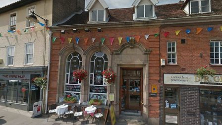 The Old Bank Tearoom in Bungay has been sold. Picture: BUNGAY