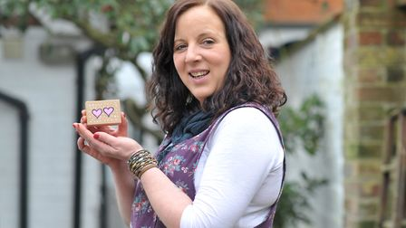 Artist Diane Ball has been creating little boxes of happiness to brighten up people's lives Picture
