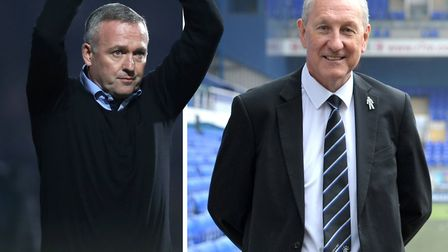 Ipswich Town legend Terry Butcher is back at the Blues with boss Paul Lambert. Picture: PA/ARCHANT