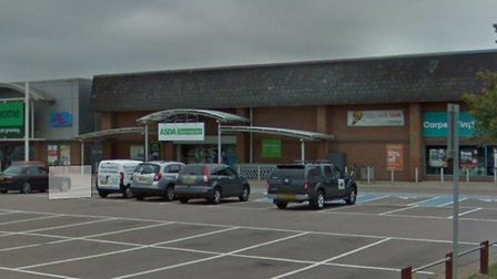 The former Asda store has a planning application to install new fridges for a potential Iceland shop