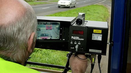 Four drivers were caught speeding for the fourth time but managed to keep their licences Picture: S