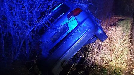 Norfolk and Suffolk Roads and Armed Policing Team reported making an arrest following a collision ne