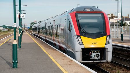 Trains are operating again from Lowestoft to Norwich after the three-week line closure. Picture; GRE