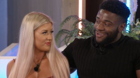 Ched Uzor from Suffolk and his partner Jess Gale Picture: ITV