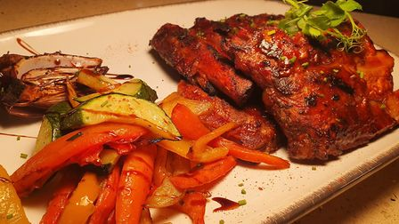 The Jacob's Ladder dish Picture: Blue Salt Wood Fired Grill