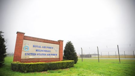 RAF Mildenhall opened in 1934 and has been operated by the Americans since 1959. Picture: GREGG BROW
