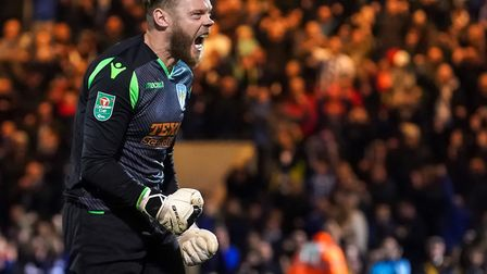 U's experienced keeper Dean Gerken, who has played 34 of the 35 league games this season. Picture: S