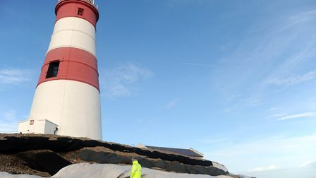The Lighthouse at Orfordness Picture: SIMON PARKER