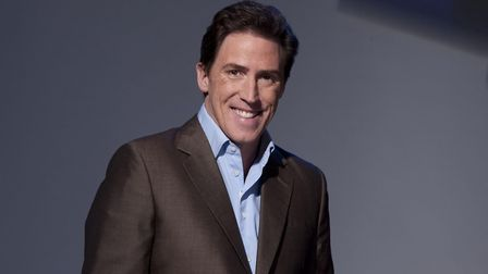 Rob Brydon who is combining stories with song sin his new stand-up show at Colchester's Charter Hall