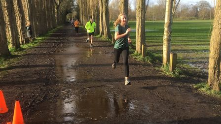 Runners approach the finish to last Saturday's Fletcher Moss parkrun, in Greater Manchester. Picture