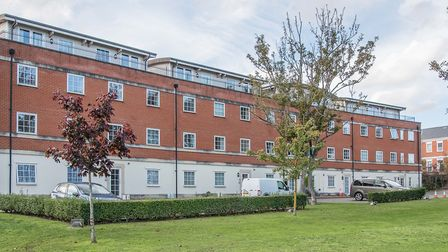 Waterloo Park, Station Road, Leiston, two bed first floor flat. �148,000 under offer. Picture: SUFFO